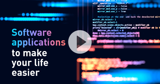 Software applications to make your life easier